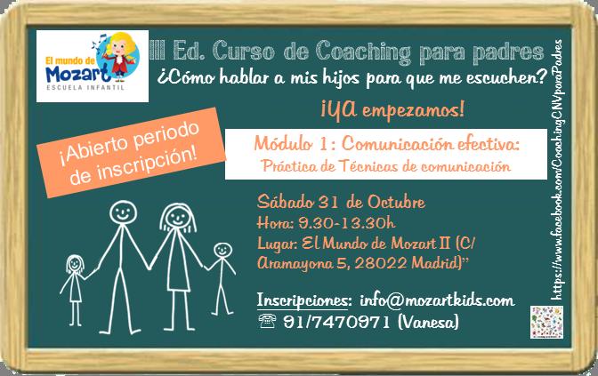 CursoCoachingparaPadresCarolinaHuerta(Octubre2015)